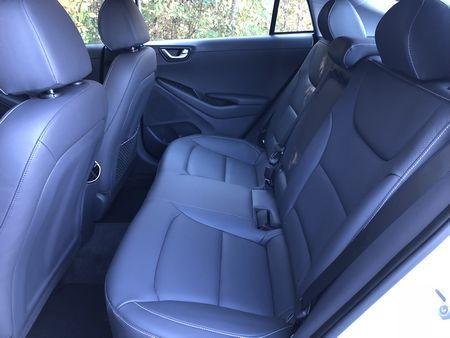 2018 Hyundai Ioniq Electric Limited back seat