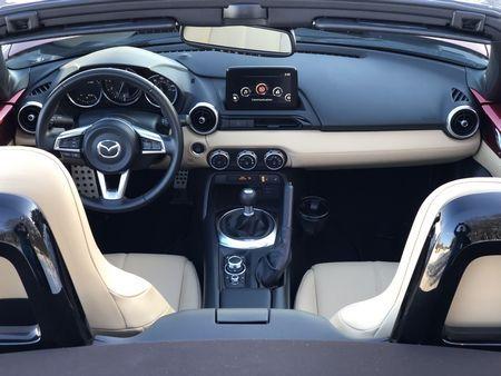2019 Mazda MX-5 Miata Grand Touring interior