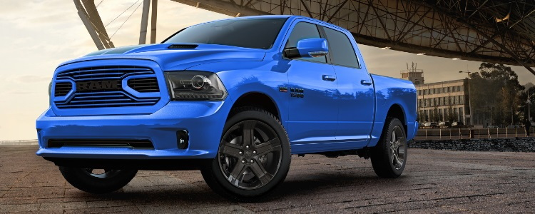 Ram Announces 1500 Hydro Blue Sport Edition