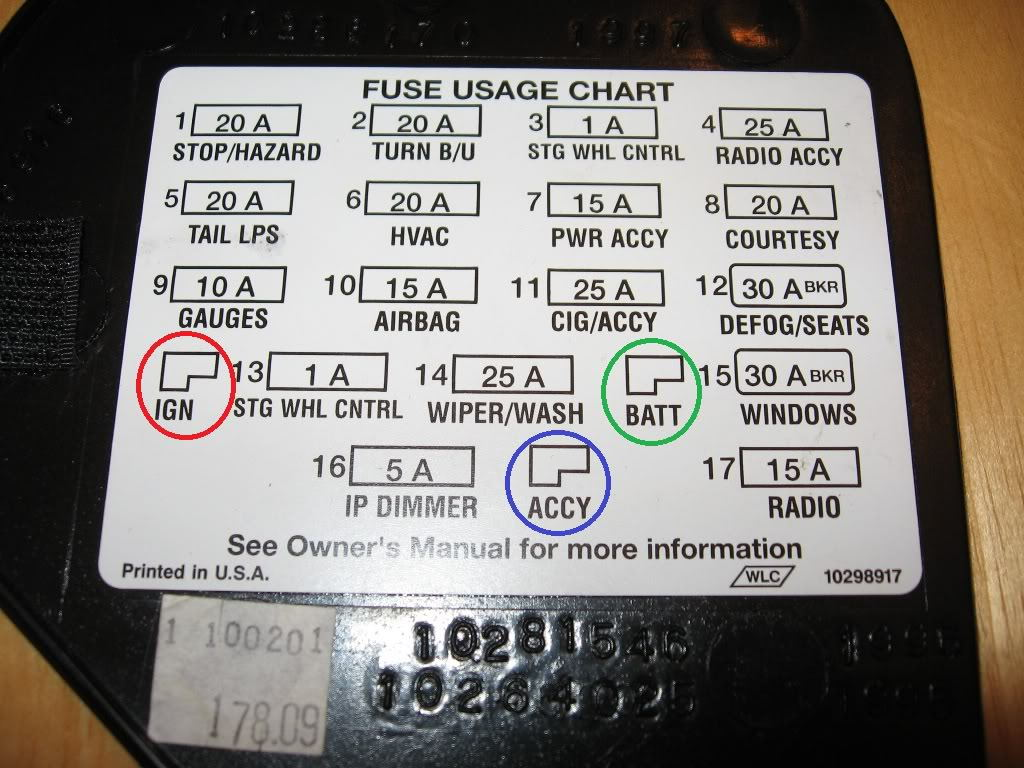 ElectricalCircuitsRelays likewise 2004 Pontiac Aztek Fuse Box Diagram furthermore Chevy 5 7l Engine Diagram furthermore 97 Toyota 4runner Fuse Box further 2yjjd Car Doesn T Want Start When Cold. on 1994 chevy fuse box diagram