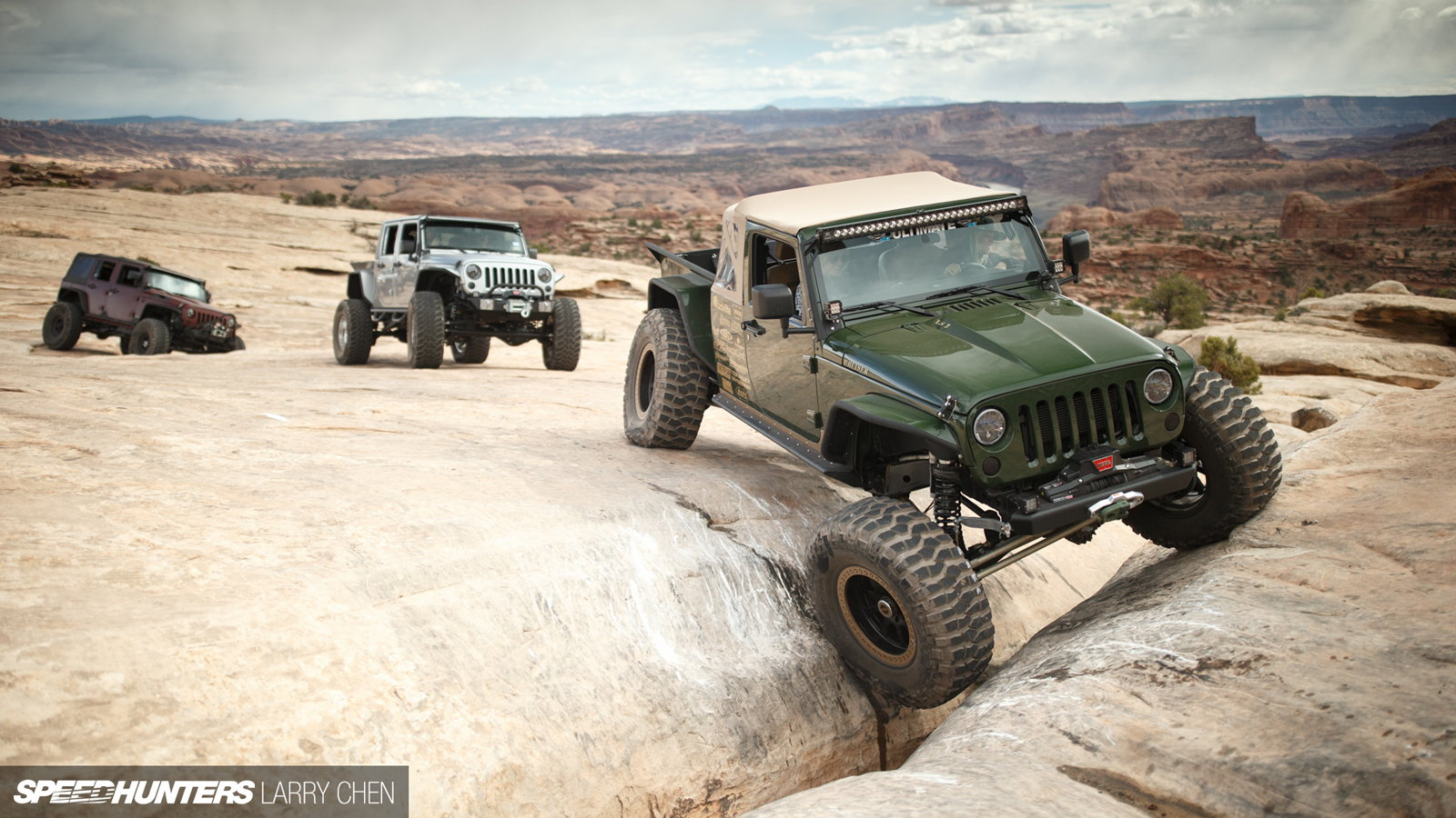 Corvette Powered Jeep Can Tackle the World