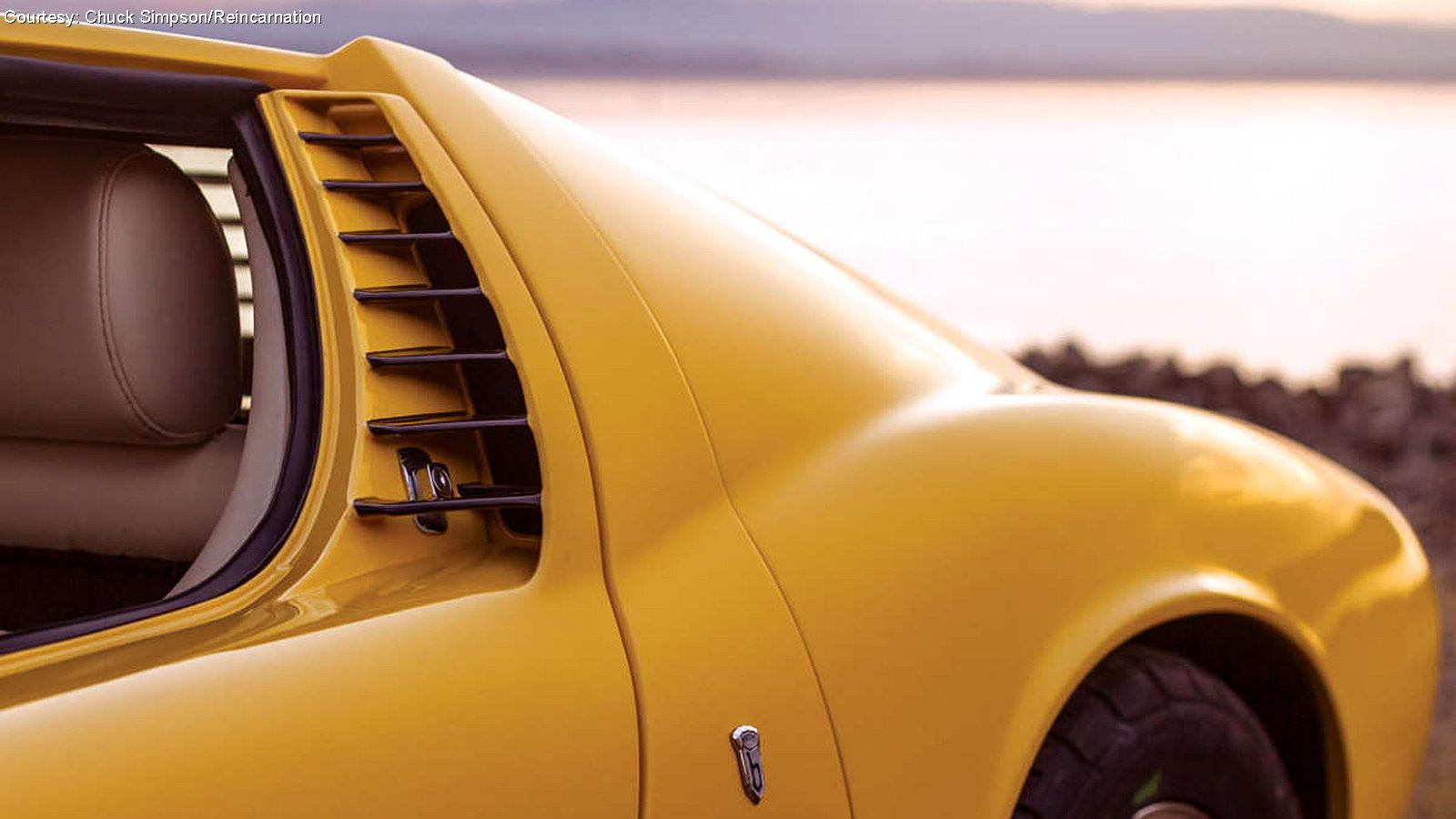 Lamborghini Miura Replica with Corvette LS3 Power