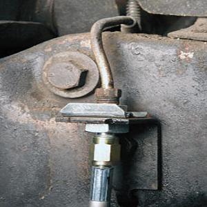 1967 Chevy Camaro or Pontiac Firebird; Front to Rear Brake Line; Stainless Steel