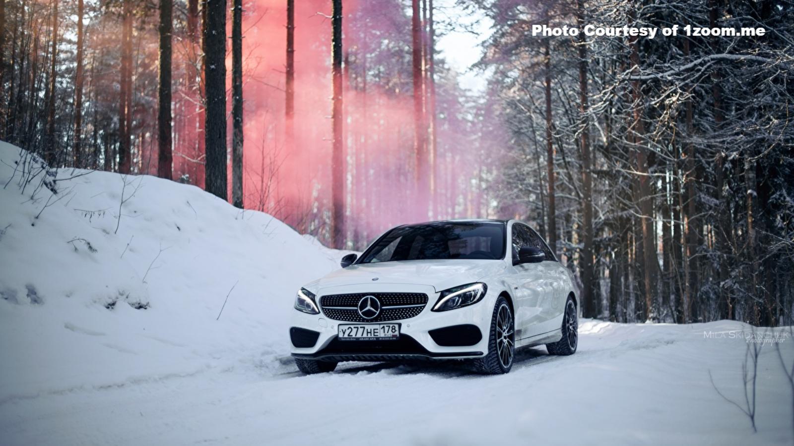 Mercedes Benz Winter Wallpapers Mbworld