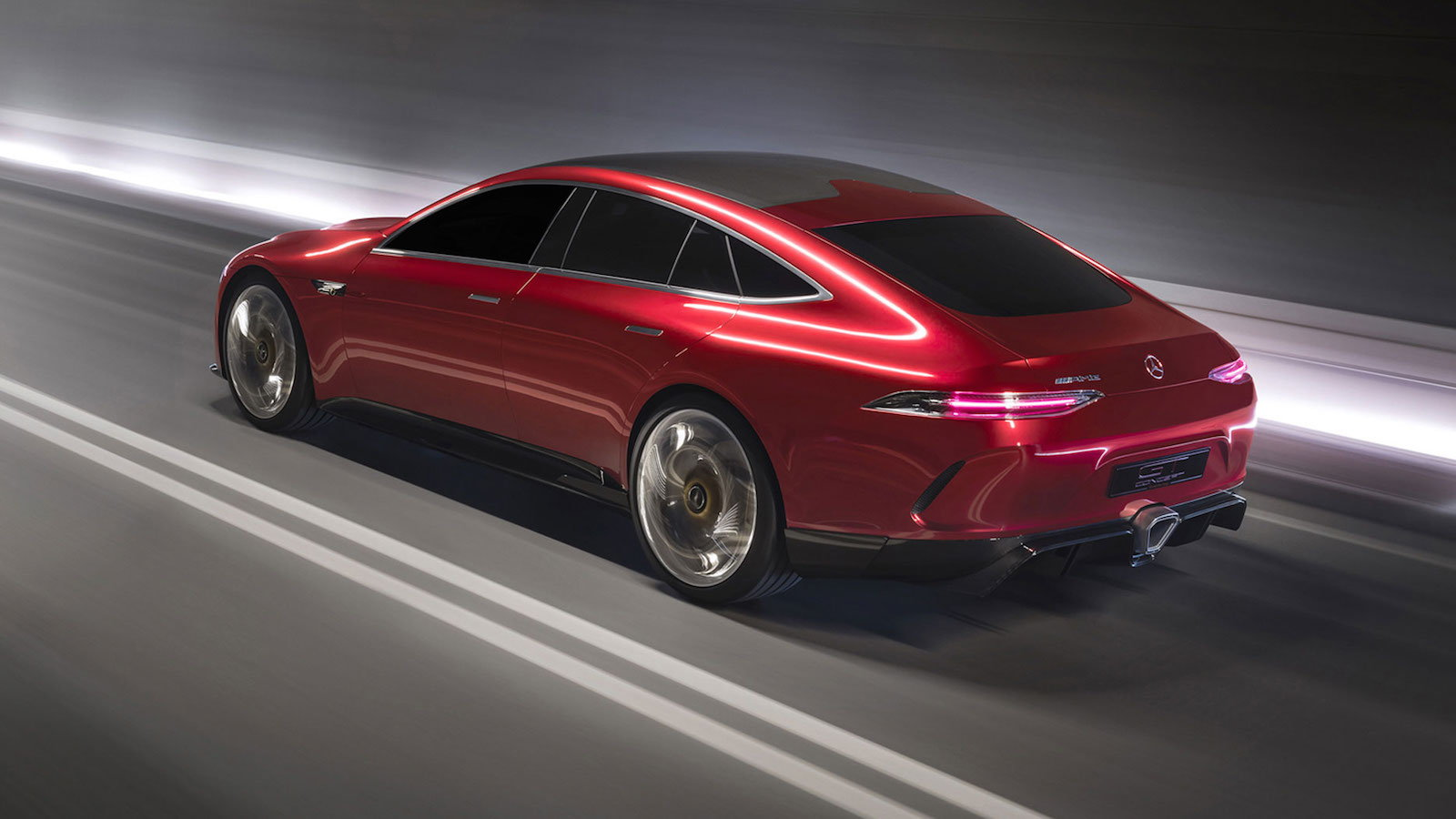 Check out the 805HP AMG GT Concept!
