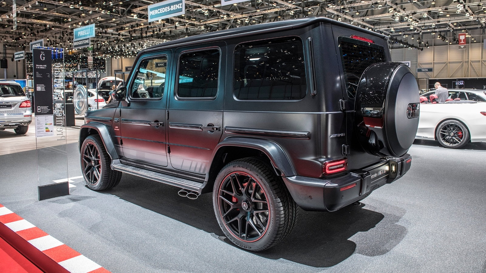 The Insane 577 HP 2019 AMG G63 Debuts in Geneva