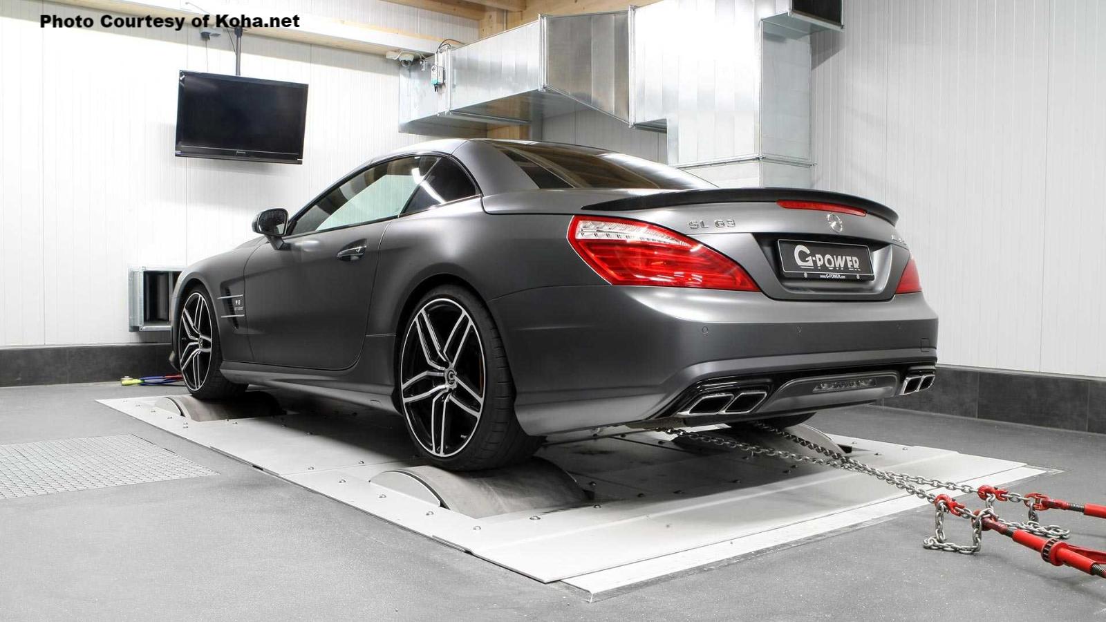 A Tuned 789 HP Mercedes-AMG SL63
