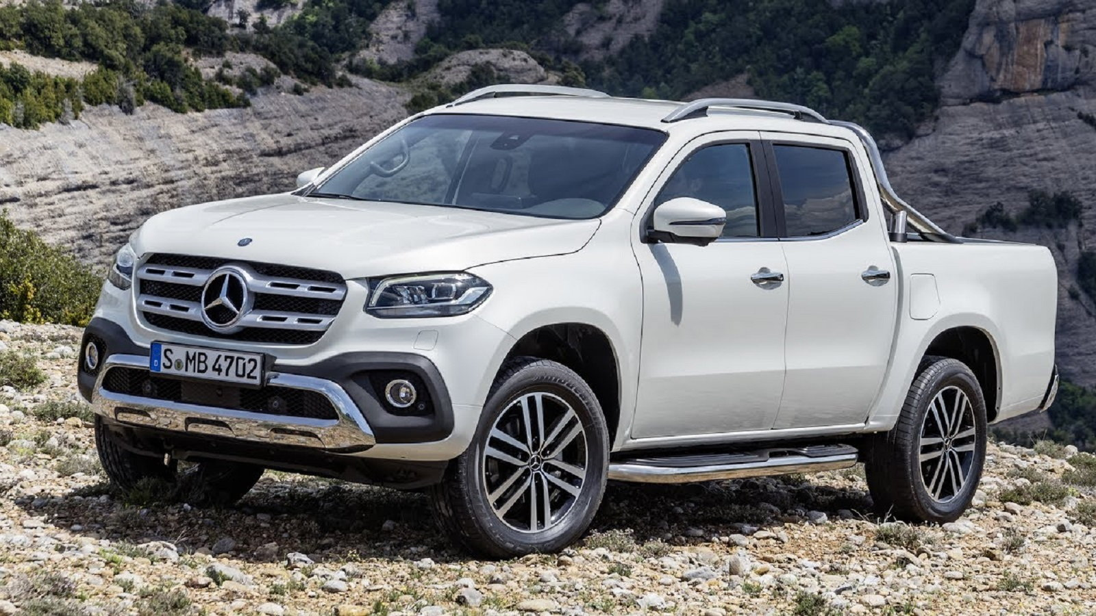 Mercedes-Benz's X Class Pickup Truck Looks to Attack the U.S. Market