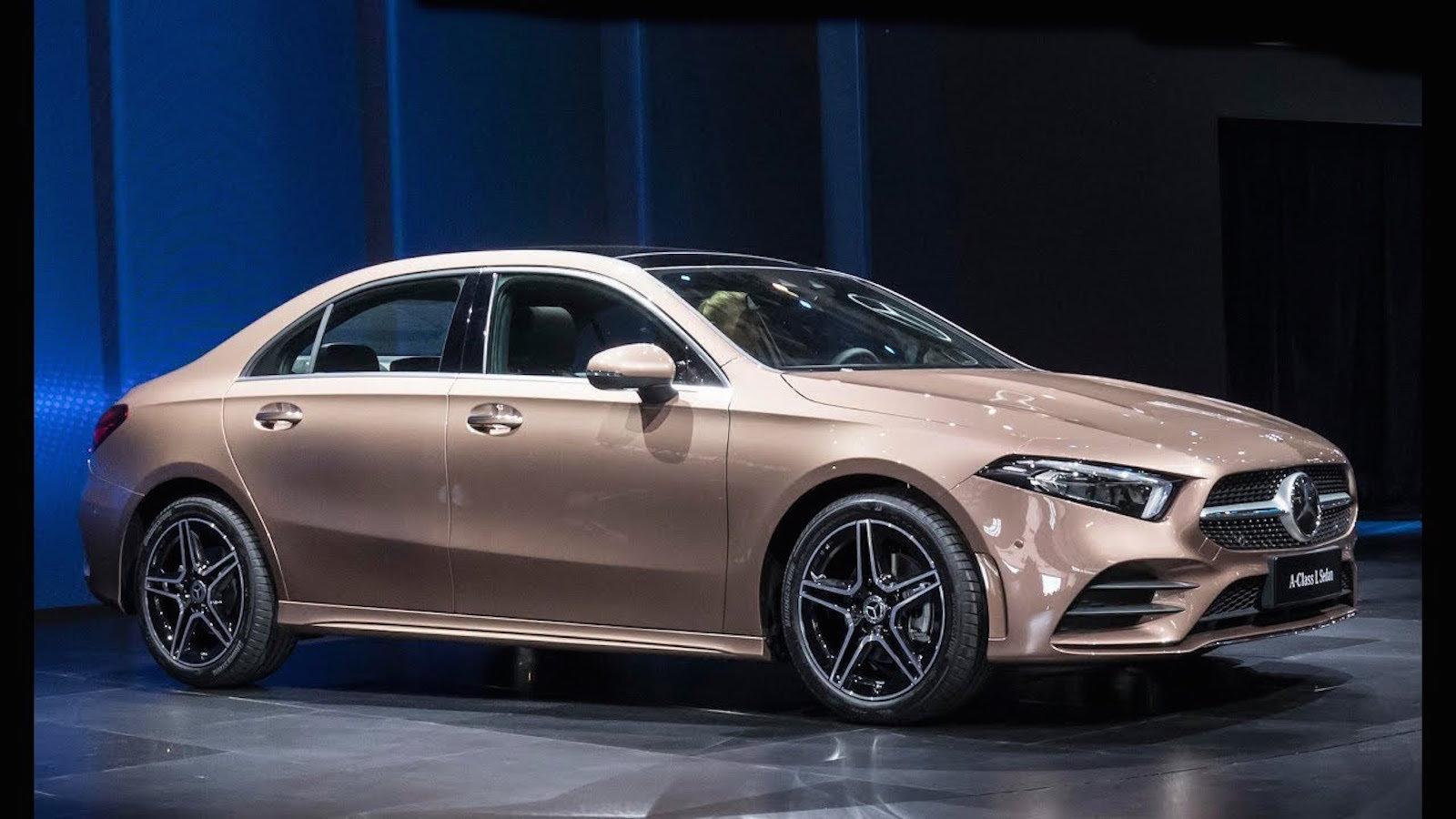 2019 A Class L Sedan is a Fun Sized Maybach