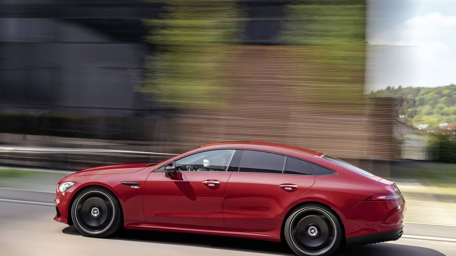AMG GT 43 Four Door Coupe Debuts