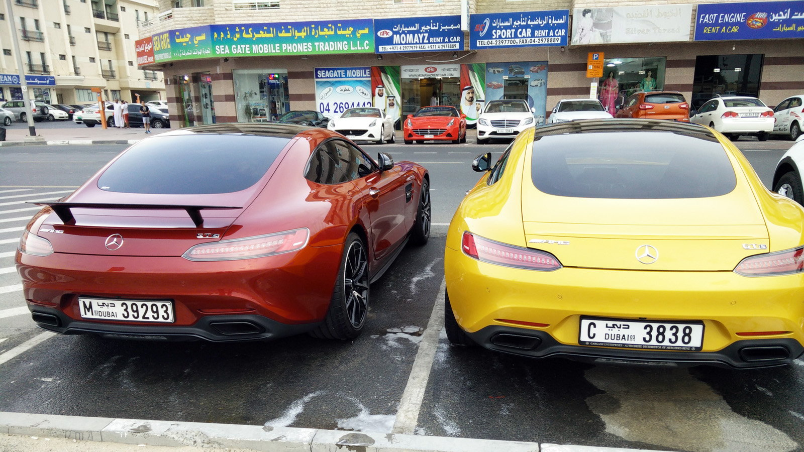 Double AMG GT