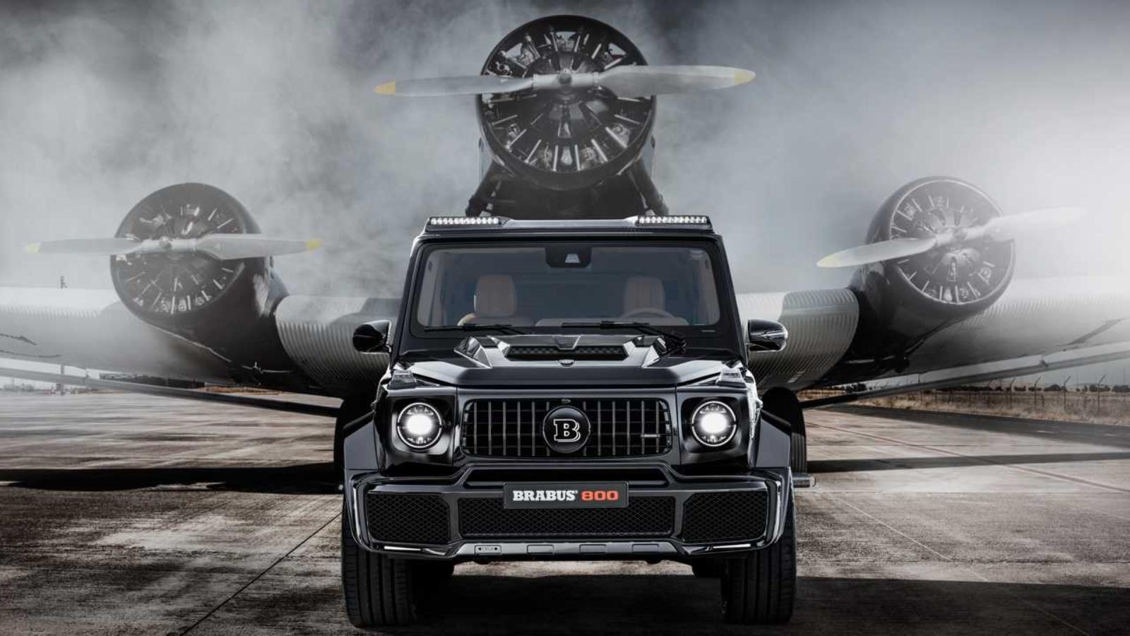 Brabus 800 Widestar G63 Tuned to 800 hp