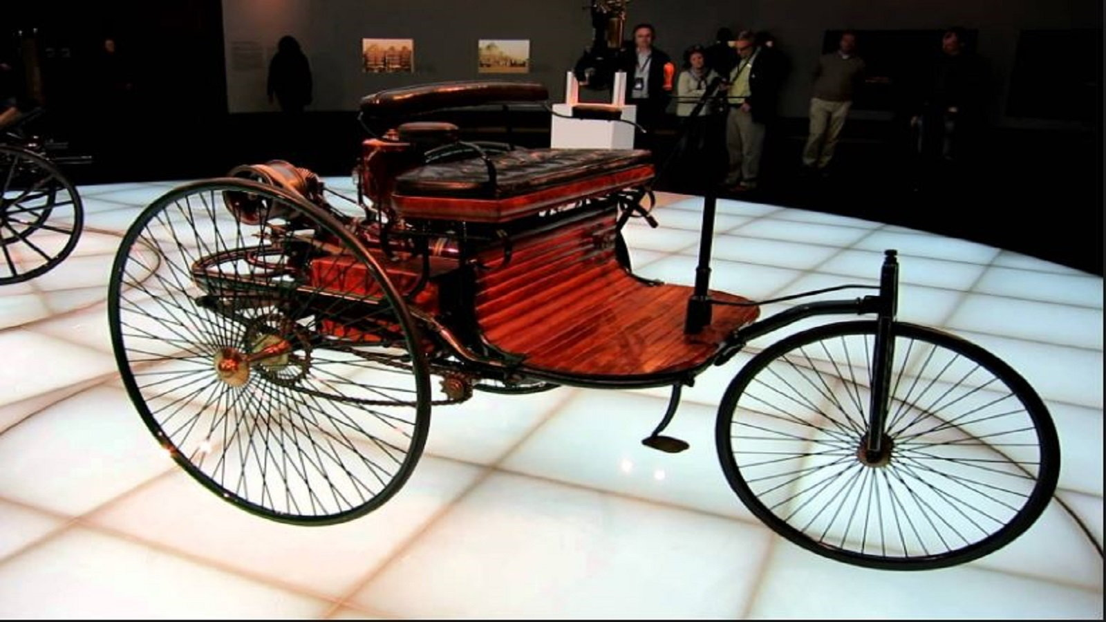 The First Gasoline Powered Automobile