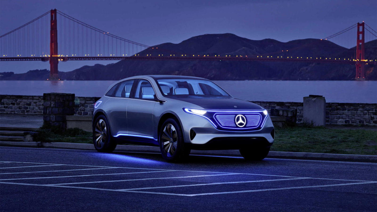 Tesla Eat Your Heart Out, the All Electric Mercedes Is On Its Way