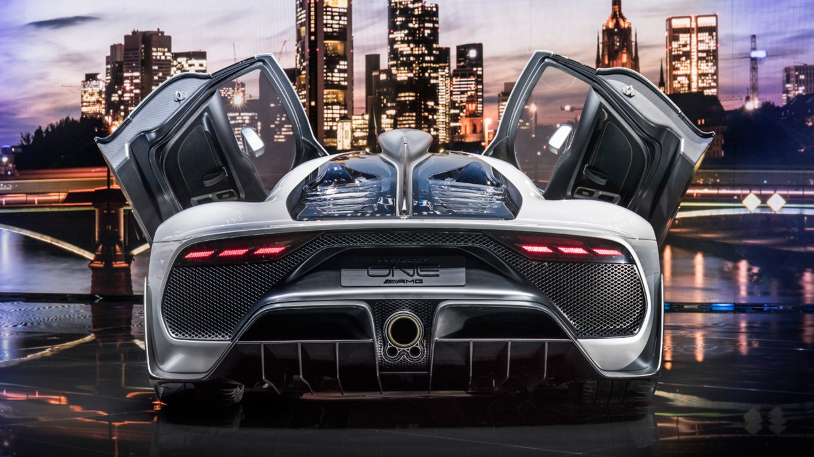 AMG Project One Wants You to Forget About the Veyron