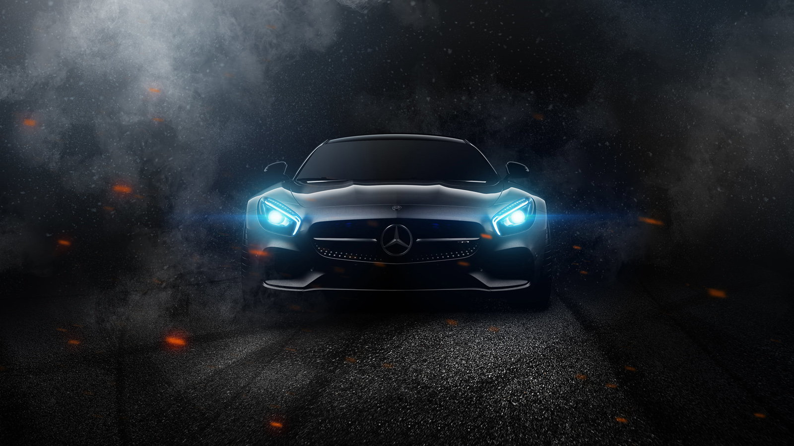 Driving Through a Fiery Hell