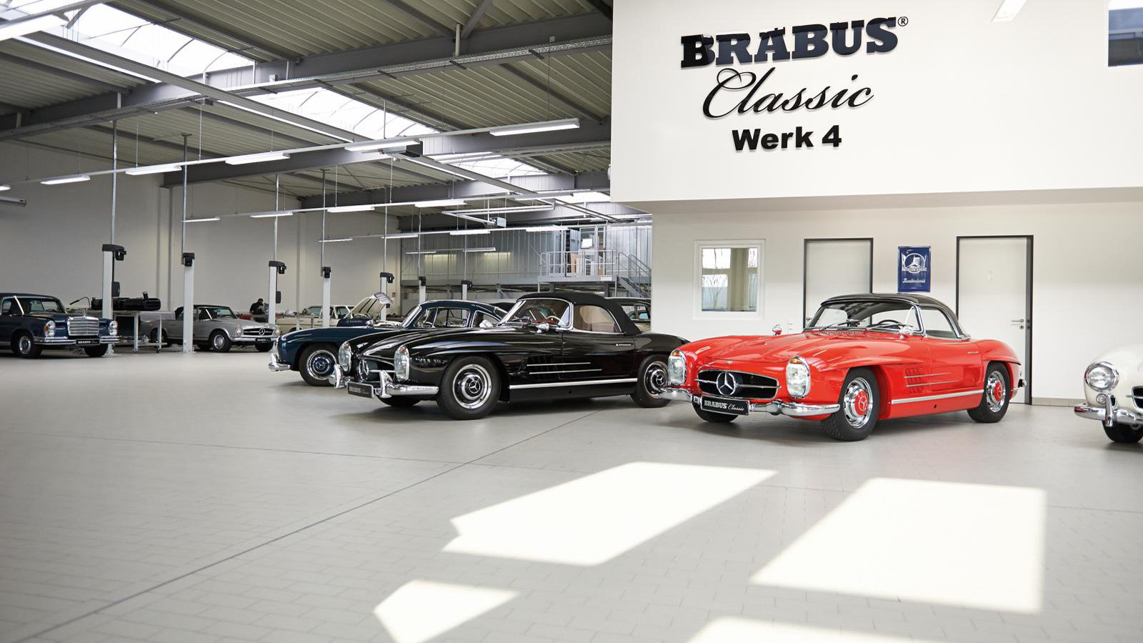 300SL Restored by Brabus is Beautiful but Costly