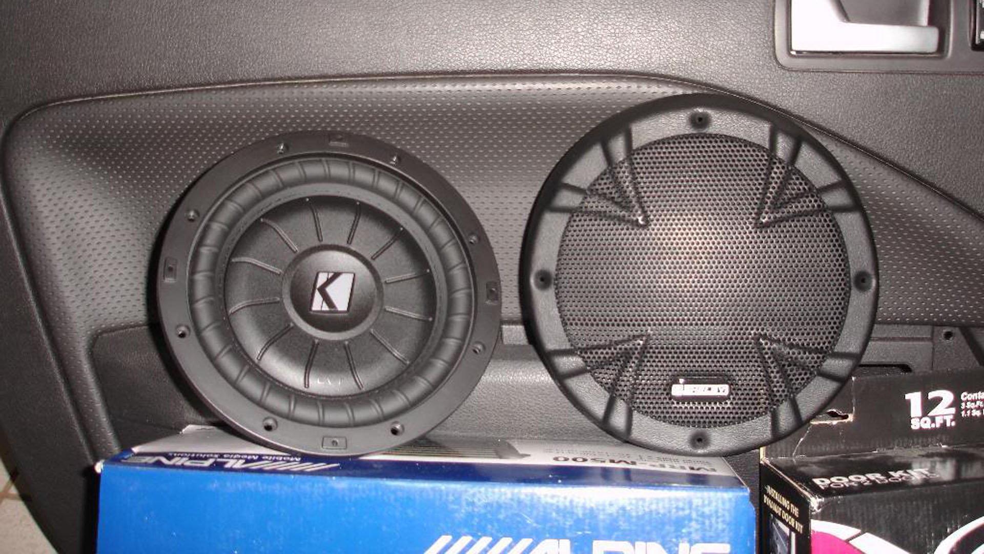 mustang ford 2005 v6 speakers gt mustangforums