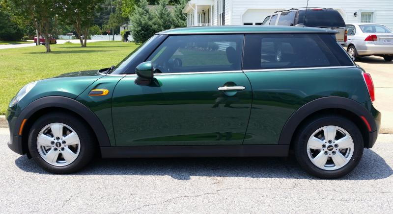 mini cooper window tint modifications northamericanmotoring. Black Bedroom Furniture Sets. Home Design Ideas