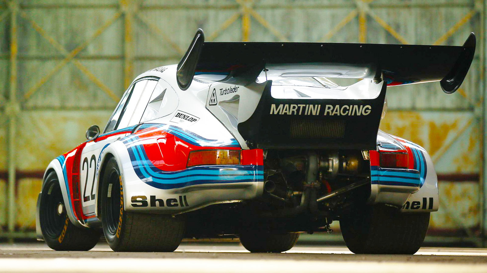 This Legendary 1974 911 RSR Turbo is Up For Grabs!