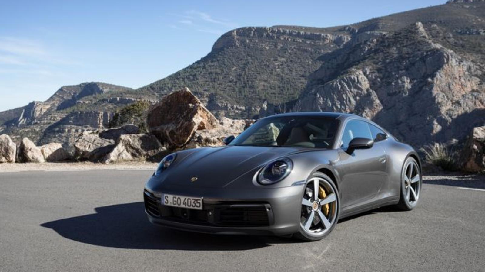 2020 Porsche 911- Code Name 992