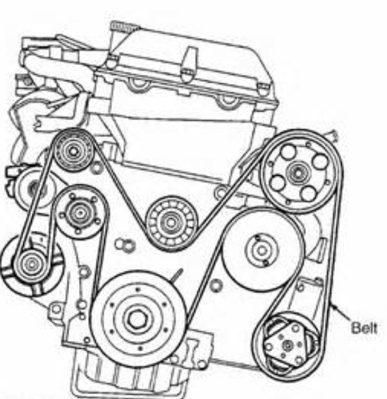 service manual  serpentine belt change on a 2007 porsche