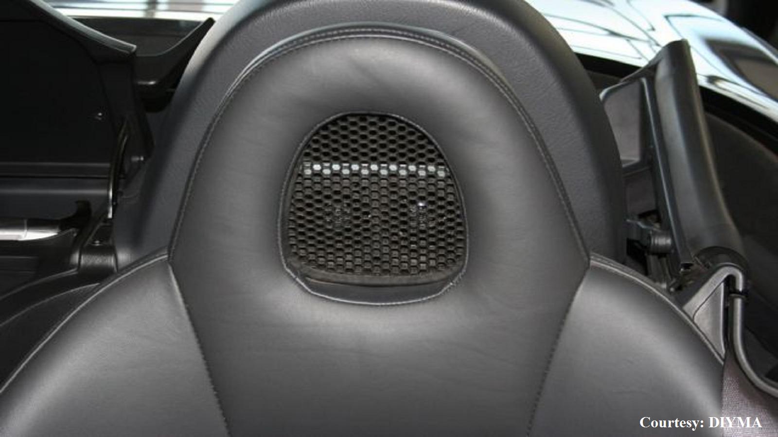 Headrest speakers