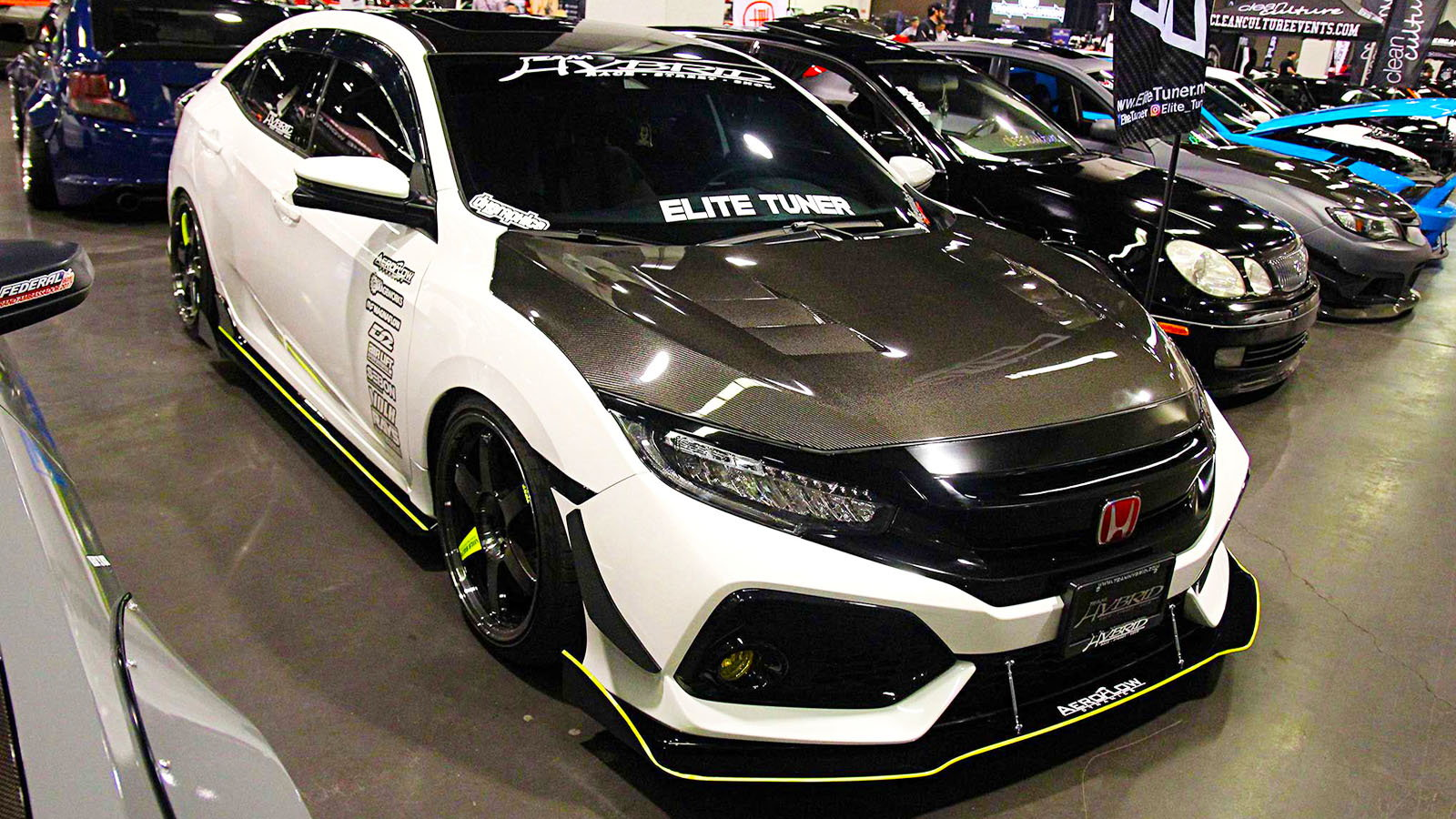 The Hondas of 2018 Tuner Evo SoCal