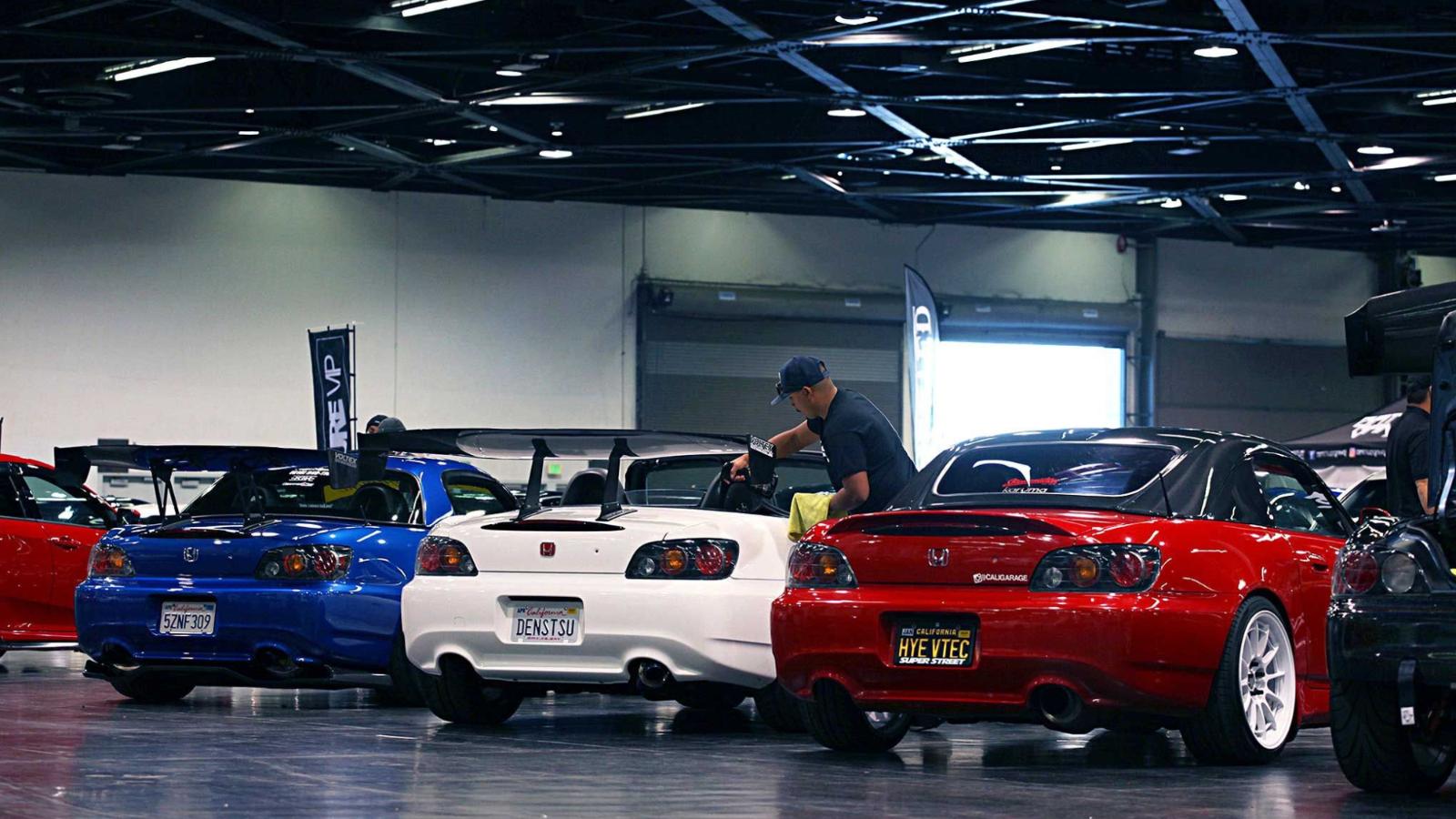 Tuner Evo Hits the Anaheim Convention Center