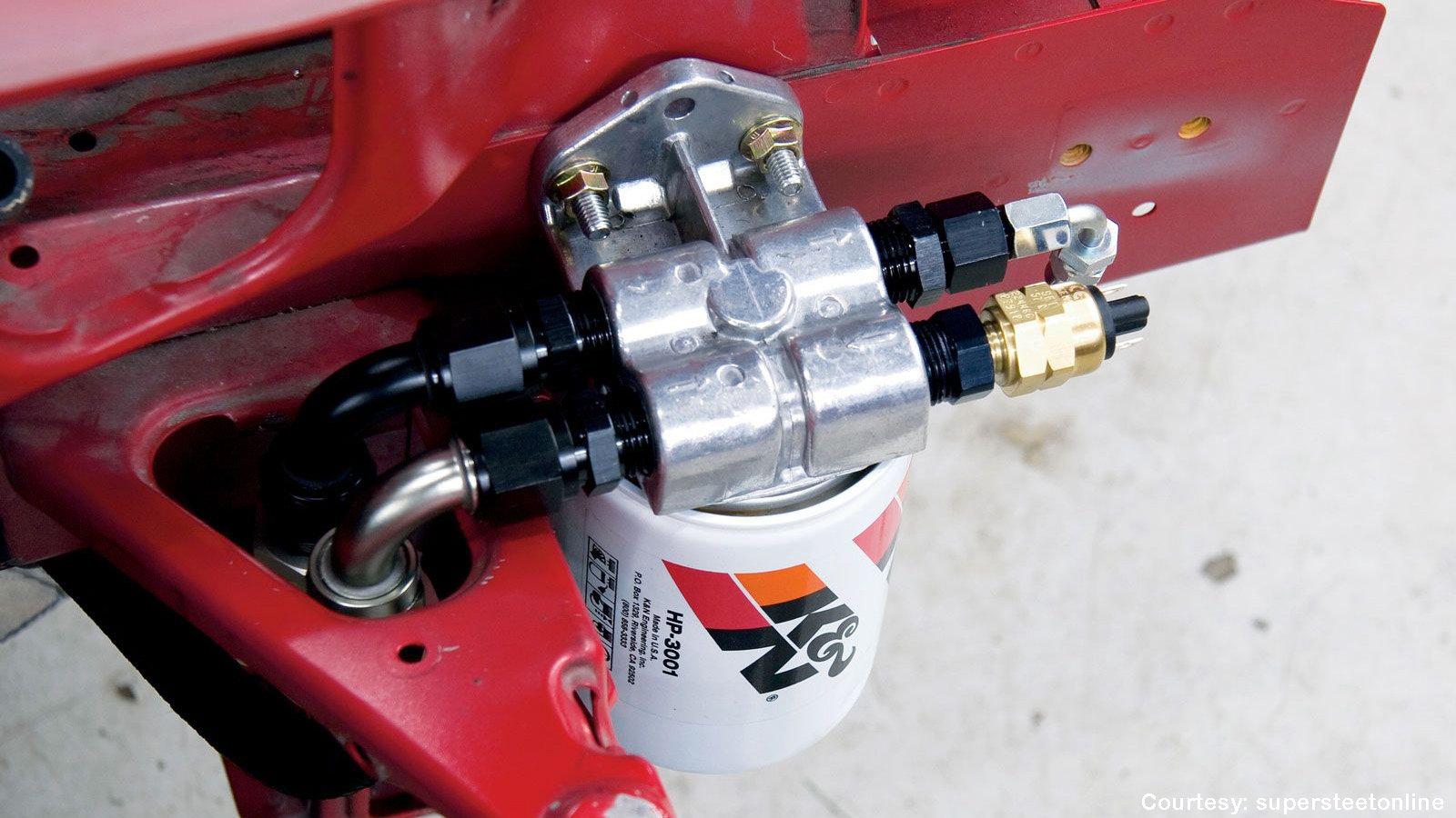 Honda S2000 Accusump System