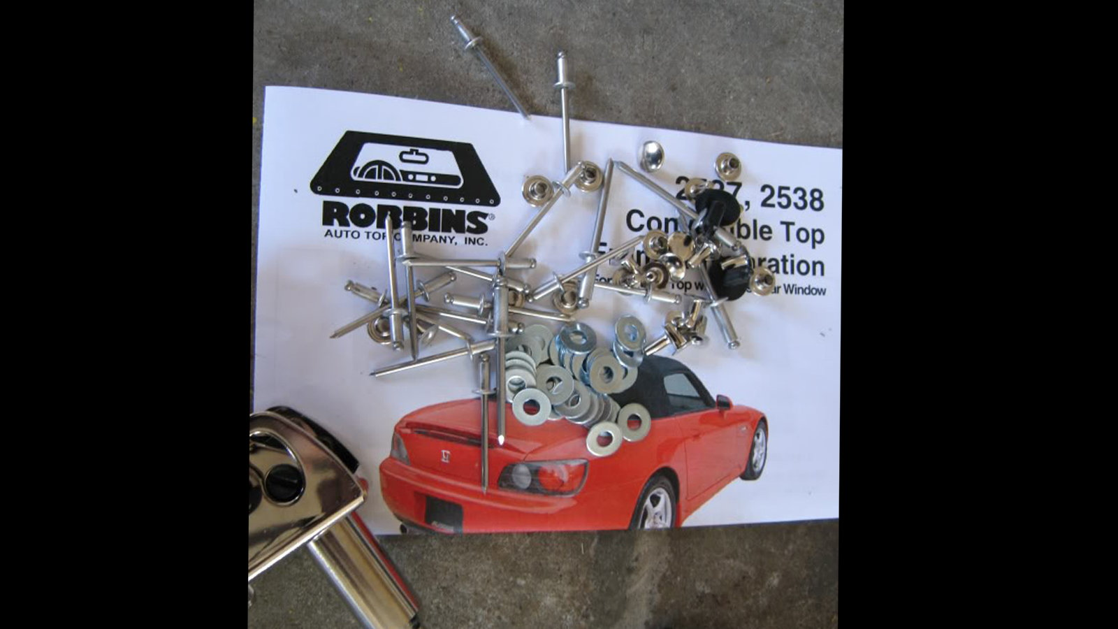 Installing a Robbins Top for Your Convertible - Part Two, The Install