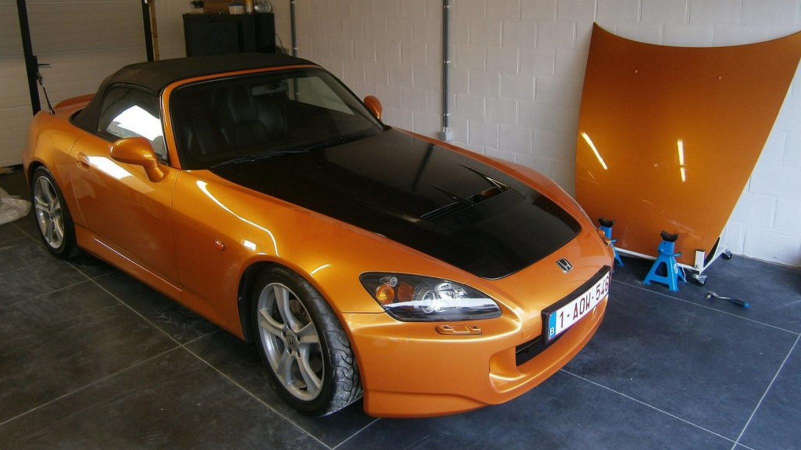 Imola Orange S2000 Joins Impressive Honda Collection