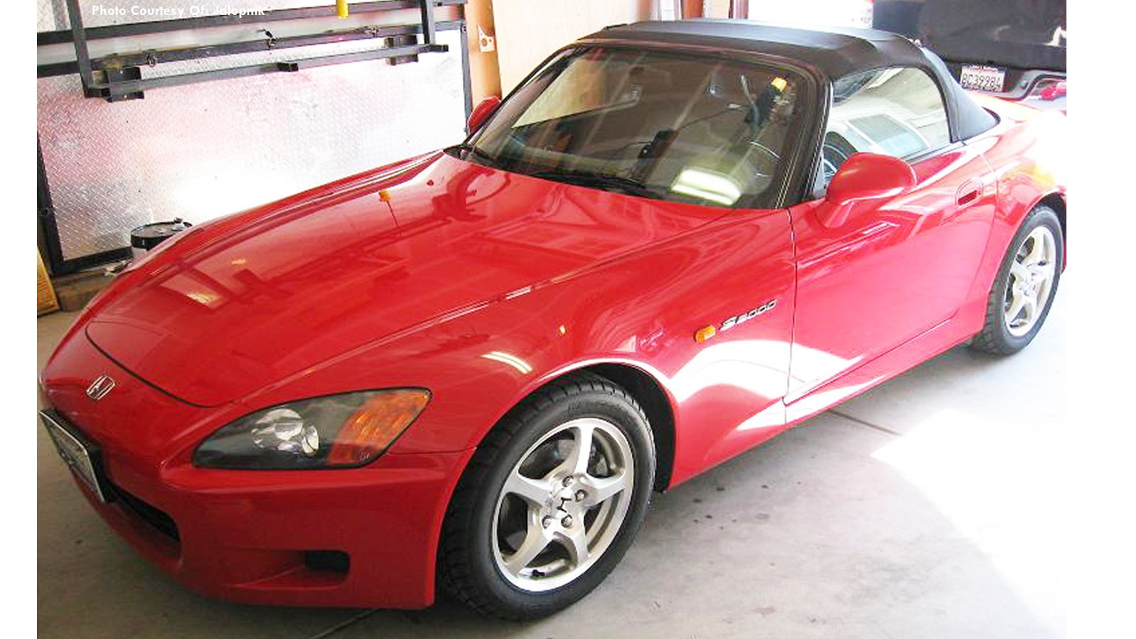 Brian and his S2000 full-electric conversion