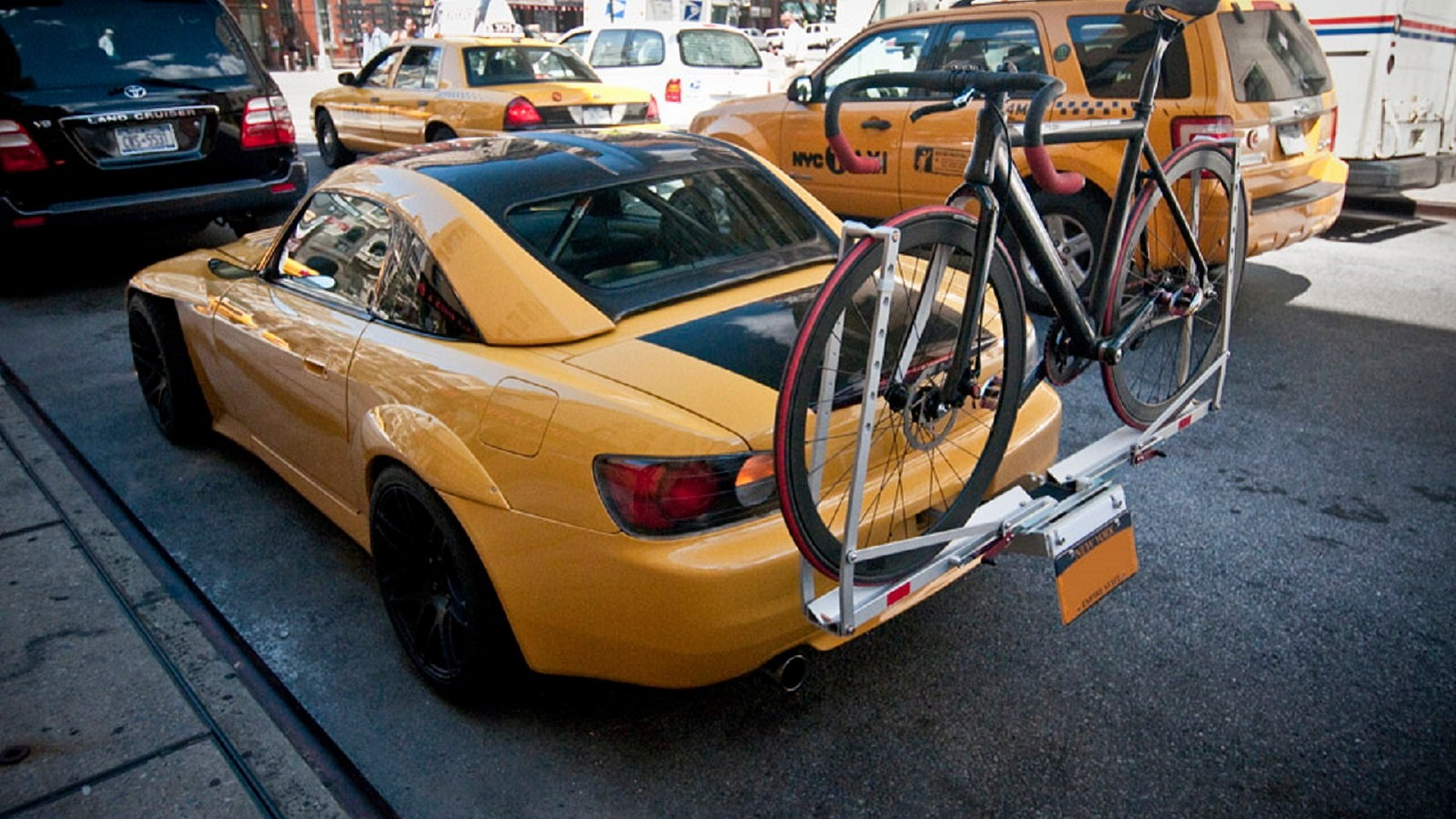 Towing A Bike