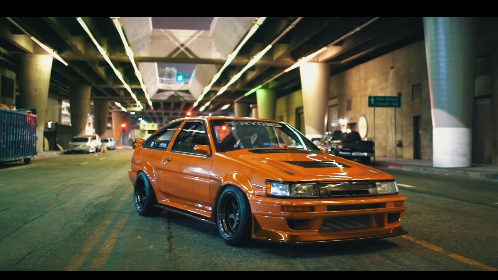 S2000 Motor Swap, Toyota AE86