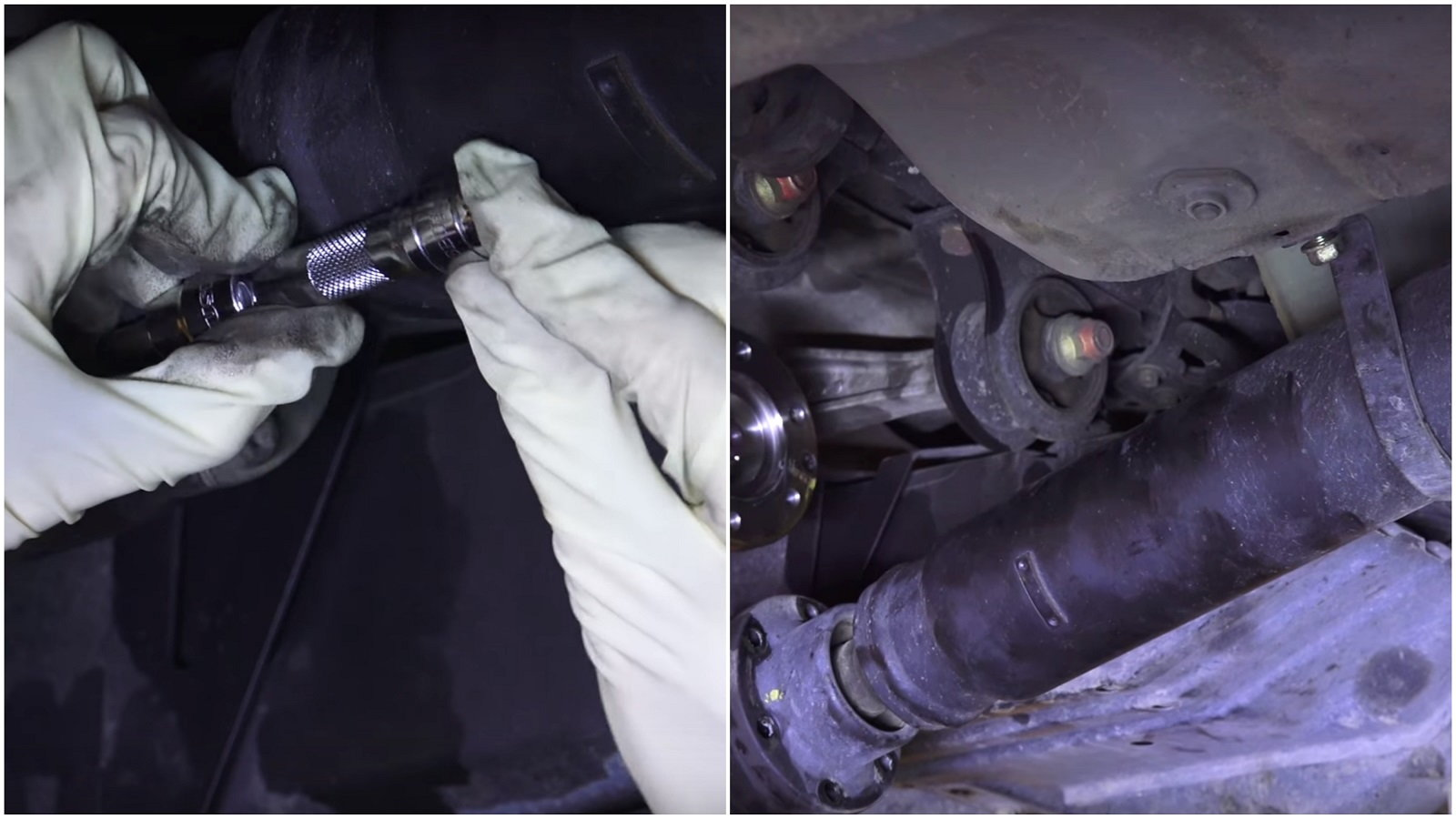 Remove the Prop Shaft From the Rear Differential