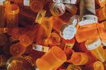 empty medicine bottles