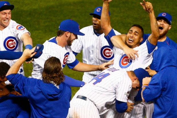 photo of Chicago Cubs's 2015 win against St. Louis Cardinals