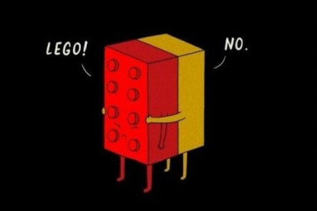 two legos