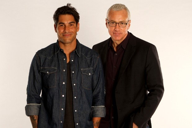 Dr. Drew and Mike Catherwood