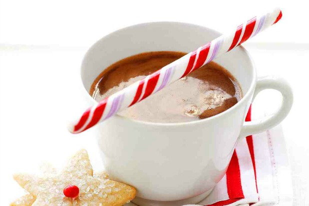 cup of peppermint cocoa