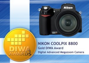 DIWA Award for Nikon 8800
