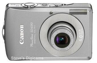 Canon Powershot SD630 Digital ELPH