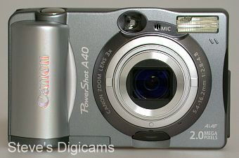 Canon PowerShot A40 Zoom