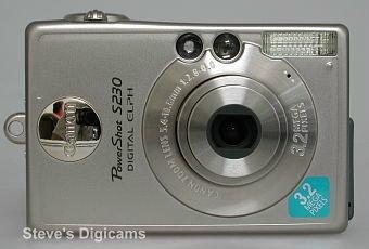 Canon PowerShot S230 Digital ELPH
