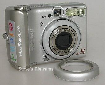 Canon Powershot A510