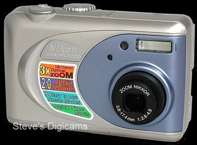 Click to take a QuickTime VR tour of the Nikon Coolpix 2000
