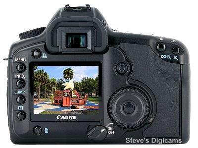 Canon EOS 5D SLR. Photos are (c) 2001 Steve's Digicams