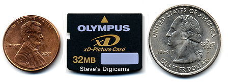 xD-Picture Card, photo (c) 2002 Steve's Digicams