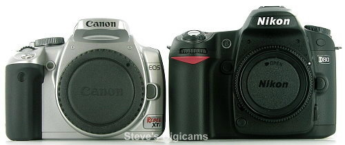 Canon EOS Digital Rebel XTi SLR Review - Steve's Digicams